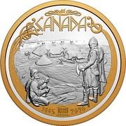 Canada 125 Dollars 75th Anniversary of UNESCO 2020 1945 – 2020 CANADA coin reverse