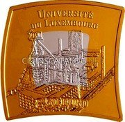Luxembourg 2.50 Euro (University of Luxembourg) UNIVERSITÉ DU LUXEMBOURG 2.5 EURO coin reverse