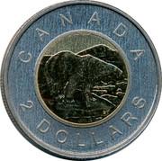 Canada 2 Dollars (Toonie) CANADA 2 DOLLARS coin reverse