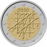Finland 2 Euro Abstract figures 2020 2020 coin obverse
