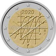 Finland 2 Euro (Abstract figures) 2020 coin obverse