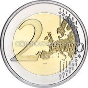 Estonia 2 Euro (The Finno-Ugric Peoples of Europe) 2 EURO LL coin reverse