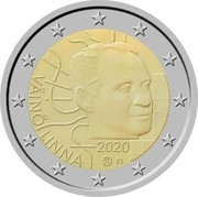 Finland 2 Euro Vaino Linna 2020 VÄINÖ LINNA 2020 FI coin reverse