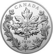 Canada 20 Dollars (The Canadian Maple Masters Collection) CANADA 2020 coin reverse