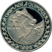 Greece 20 Euro 1996 Euro Coinage ΟΛΥΜΛΟΣ OLYMPUS 1996 coin obverse