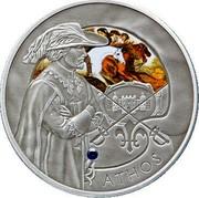 Belarus 20 Roubles Athos 2009 Antique finish KM# 244a ATHOS coin reverse