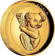 Australia 200 Dollars Australian Gold Koala 2020 AUSTRALIAN KOALA 2020 2 OZ 9999 GOLD coin reverse