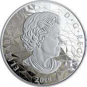 Canada 25 Dollars Lynx 2020 Proof 2019 ELIZABETH II D G REGINA coin obverse