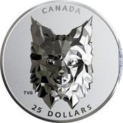 Canada 25 Dollars Lynx 2020 Proof 25 DOLLARS CANADA coin reverse