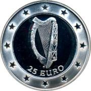 Ireland 25 Euro 1997 Republic 25 EURO coin reverse