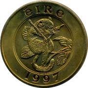 Ireland 25 Euro Animal on the tree 1997 ÉIRE 1997 coin obverse