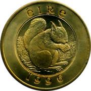 Ireland 25 Euro Squirrel 1996 ÉIRE 1996 coin obverse