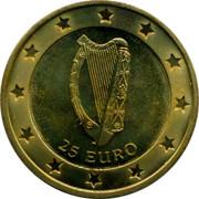 Ireland 25 Euro Squirrel 1996 25 EURO coin reverse