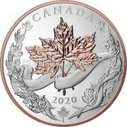 Canada 250 Dollars (Canadian Maple Leaves) CANADA 2020 coin reverse