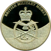 UK 5 Shillings British Planes 2014 Proof BRITISH MILITARY MONEY coin obverse