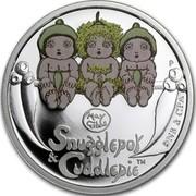 Australia 50 Cents Snugglepot and Cuddlepie 2015 P TNS & CPA SNUGGLEPOT & CUDDLEPIE coin reverse