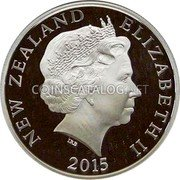 New Zealand 50 Cents (Spirit of ANZAC) NEW ZEALAND ELIZABETH II IRB 2015 coin obverse