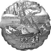 Canada 50 Dollars (175th Anniversary of Franklin's Lost Expedition) CANADA 2020 coin reverse