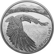 Canada 50 Dollars (Courageous Bald Eagle) 50 DOLLARS coin reverse