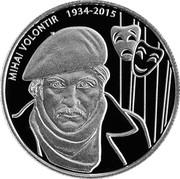 Moldova 50 Lei Mihai Volontir 2019 proof MIHAI VOLONTIR 1934 2015 coin reverse