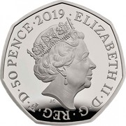 UK 50 Pence The Battle of Britain 2019 Proof ELIZABETH II D G REG F D 50 PENCE 2019 J.C coin obverse