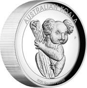 Australia 8 Dollars Australian Koala 2020 AUSTRALIAN KOALA 2020 5 OZ 9999 SILVER coin reverse
