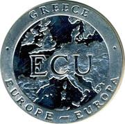 Greece ECU 1992 PM Proof X# 30 Republic GREECE ECU EUROPE EUROPA coin reverse