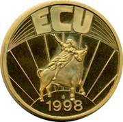 Greece ECU 1998 UNC Republic ECU 1998 coin obverse