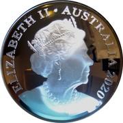 Australia Five Dollars Australian Olympic Team 2020 Proof ELIZABETH II AUSTRALIA 2020 coin obverse