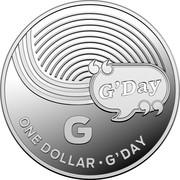 Australia One Dollar The Great Aussie Coin Hunt - G 2019 ONE DOLLAR G'DAY coin reverse