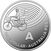 Australia One Dollar The Great Aussie Coin Hunt - Letter A 2019 ONE DOLLAR A AUSTRALIA POST coin reverse