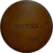 Australia Penny Edward VIII Pattern 1937 Pattern MODEL coin obverse