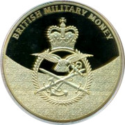UK Pound British Military Money 2014 Proof BRITISH MILITARY MONEY coin reverse