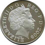 UK Two Pence Royal Shield of Arms. Piedfort 2008 ELIZABETH·II·D·G REG·F·D·2008 coin obverse