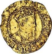 UK 1/2 Crown James VI ND KM# 21 I D G ROSA SINE SPINA coin obverse