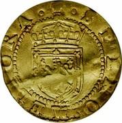 UK 1/2 Rider 1601 KM# 17 Scotland SPERO MELIORA coin reverse