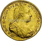 Belgium 1/2 Souverain D'or 1775 (b) KM# 26 Trade Coinage coin obverse