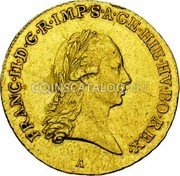Belgium 1/2 Souverain D'or 1792 A KM# 63 Trade Coinage coin obverse