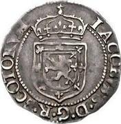 UK 1/4 Merk 1602 KM# 14 Scotland IACOBVS D G R SCOTOKVA coin obverse