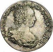 Belgium 1/8 Ducaton 1751 (h) R KM# 5 Standart Coinage coin obverse