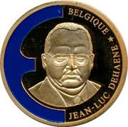 Belgium 1 ECU Jean-Luc Dehaene 1998 UNC BELGIQUE JEAN-LUC DEHAENE coin obverse
