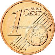 Belgium 1 Euro Cent KM# 295 Country Standart Coinage 1 EURO CENT LL coin reverse