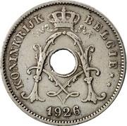 Belgium 10 Centimes 1926 KM# 86 Decimal Coinage KONINKRIJK BELGIË 1925 coin obverse