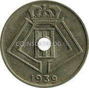 Belgium 10 Centimes 1939 KM# 113.1 Decimal Coinage coin obverse