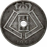 Belgium 10 Centimes 1941 KM# 126 Decimal Coinage coin obverse
