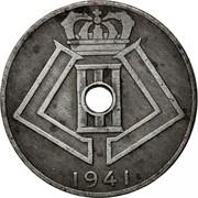 Belgium 10 Centimes 1941 KM# 126 Decimal Coinage 1941 coin reverse