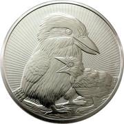 Australia 10 Dollars Kookaburra 2020 P NM coin reverse