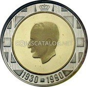 Belgium 10 ECU 1990 (qp) Proof KM# 176 European Currency Units coin obverse