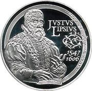 Belgium 10 Euro 400th Anniversary of the Death of Justus Lipsius 2006 Proof KM# 255 JUSTUS LIPSIUS 1547 1606 coin reverse