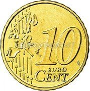 Belgium 10 Euro Cent 2006 Proof KM# 227 European Union Issues coin reverse